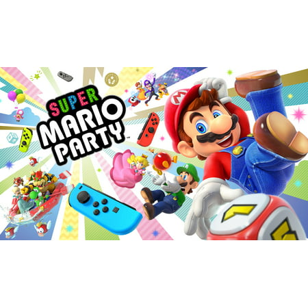 Super Mario Party, Nintendo, Nintendo Switch, 045496594329 (Digital Download)