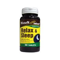 Mason Relax And Sleep Muscle Relax Tablets - 90 Ea