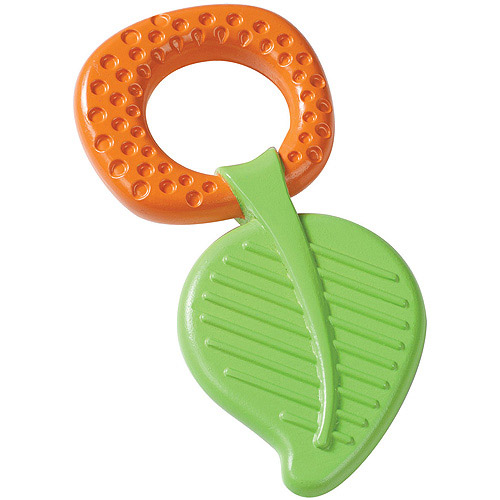 Born Free Calm 'N Soothe Teether, Leaf Design, BPA-Free