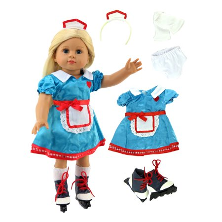 Baby Doll Clothes At Walmart Custom Carhop Cutie 60pc Outfit Fits 60 American Girl Dolls Madame