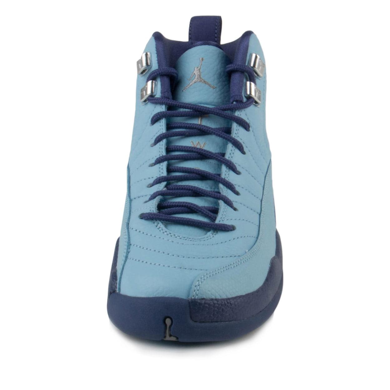 "Nike Girls ""Purple Air Jordan 12 Retro GG ""Purple Girls Dust"" Bluecap/Silver 510815-418 80108c"