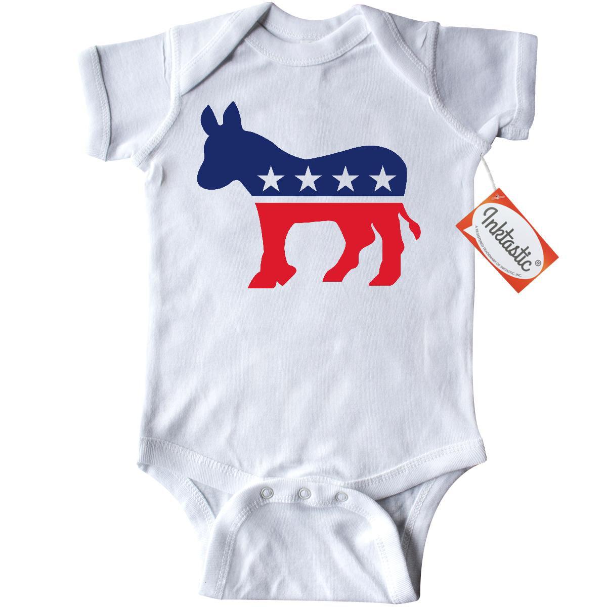 2ac370dac Inktastic Democrat Donkey Infant Creeper Baby Bodysuit democratic ...