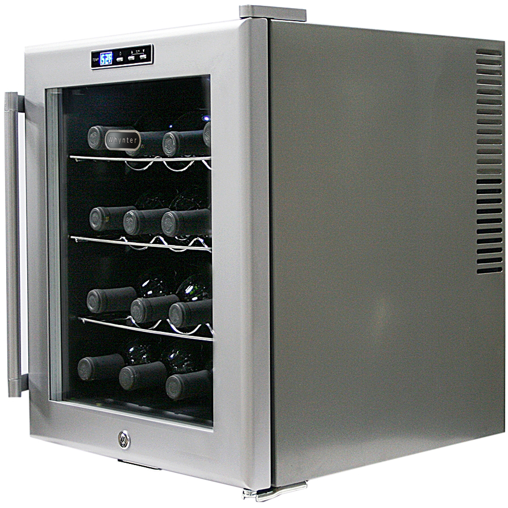 Whynter SNO WC-16S 16-Bottle Wine Cooler with Lock