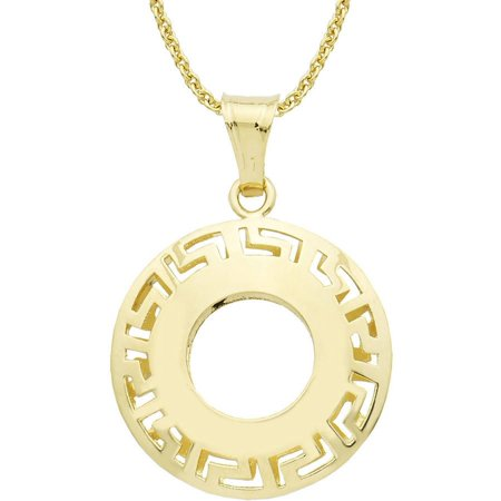 Dolce vita 18kt gold tone round greek key pendant 18 walmart dolce vita 18kt gold tone round greek key pendant 18 aloadofball Choice Image