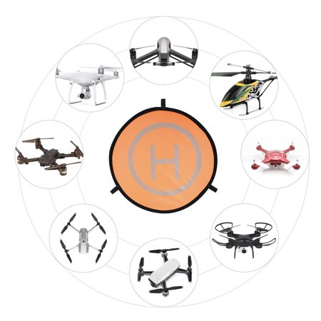 75cm Fast-fold Landing Pad Universal Parking Apron For DJI Mavic Spark Drone