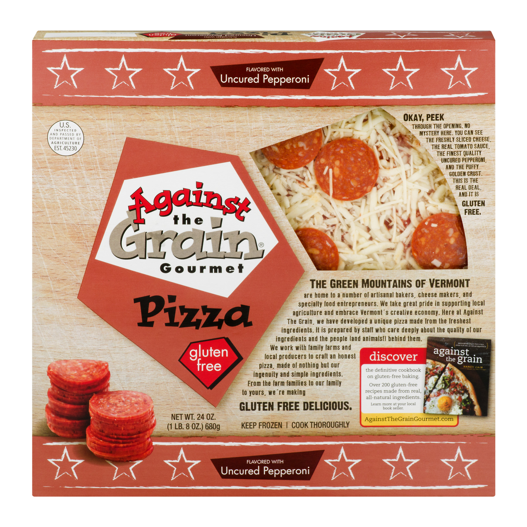 Against the Grain Gourmet Against The Grain Pizza, 24 oz