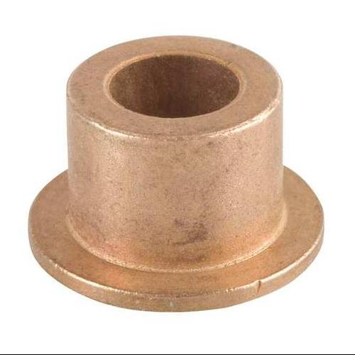 BUNTING BEARINGS EXEF081010 Flanged Bearing, I.D. 1/2, L 5/8, Pk 3