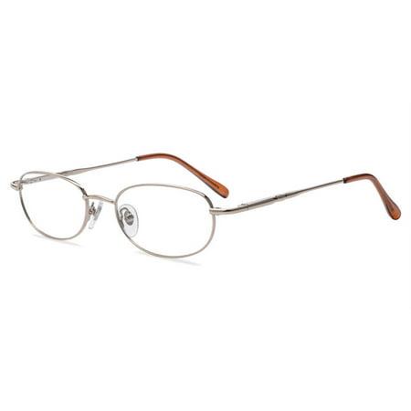 - Contour Womens Prescription Glasses, FM4046  Gold