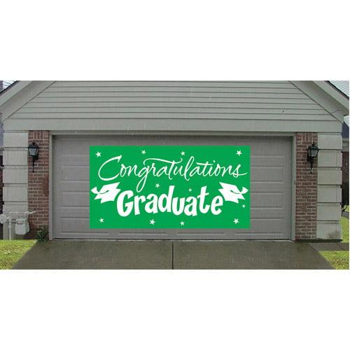 "Green ""Congratulations Graduate"" Gigantic Greetings"