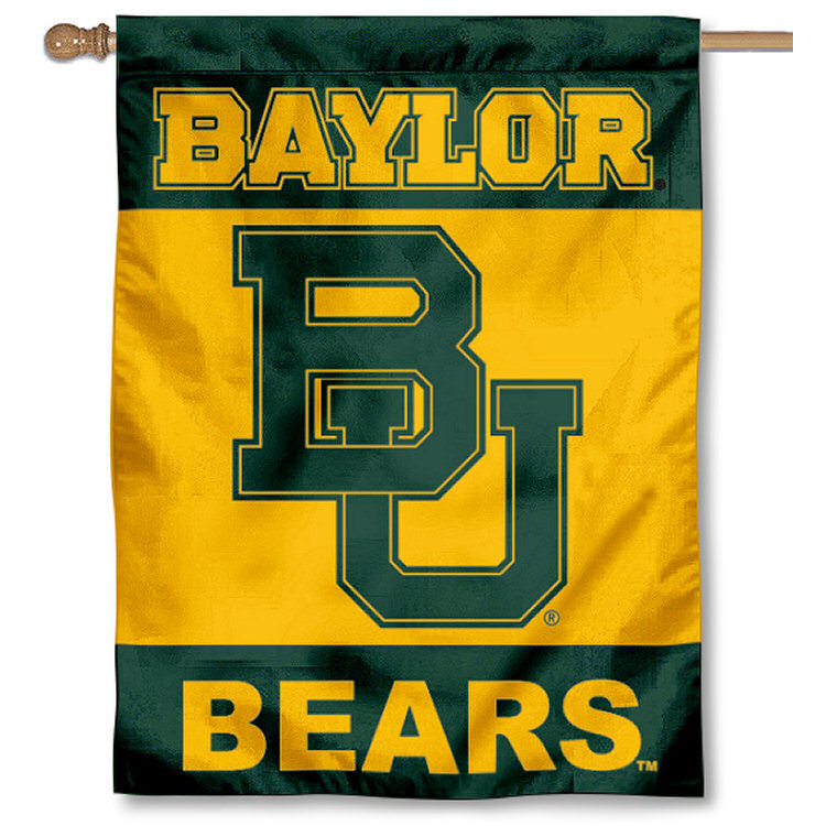 "Baylor Bears 30"" x 40"" Two Sided House Flag"