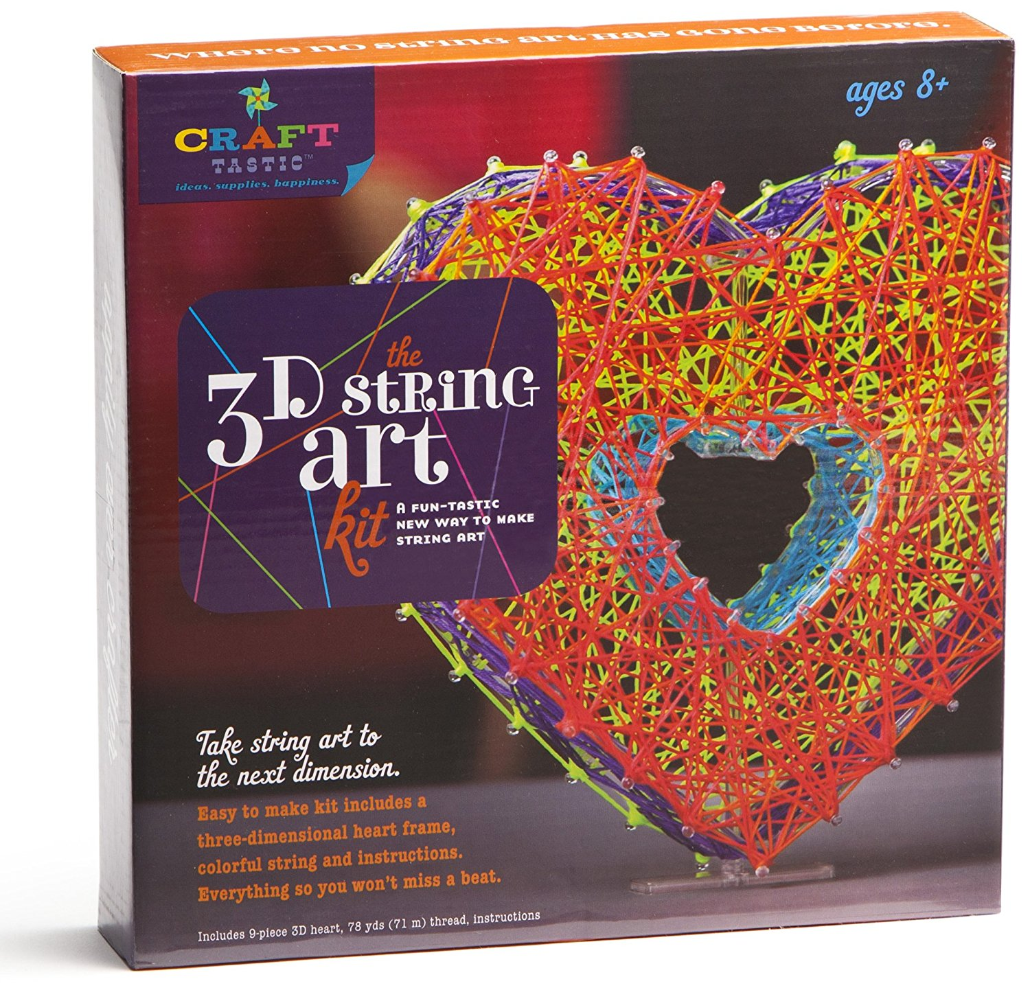 New Kids Craft Set-Ann Williams The 3D String Art Kit-Great Quality