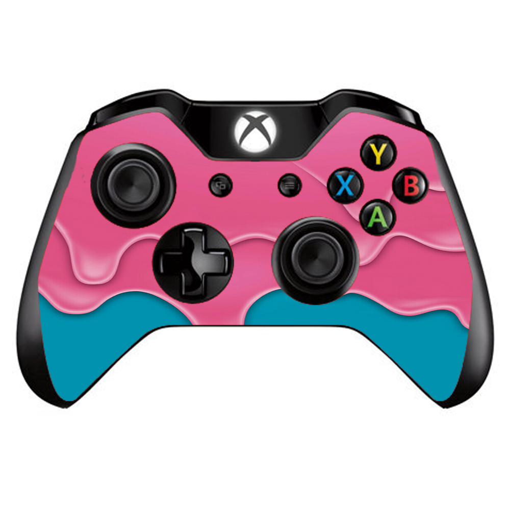 Skins Decals For Xbox One / One S W/Grip-Guard / Dripping Ice Cream Drips