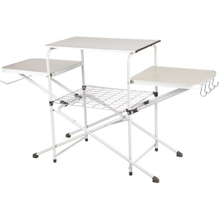 Ozark Trail Camp Kitchen Cooking Stand with Three Table Tops ()