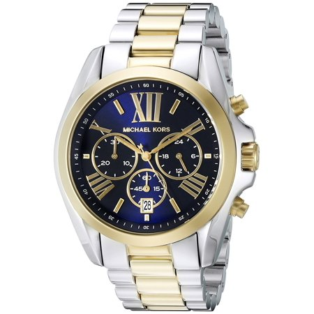 Michael Kors Mens (Michael Kors Men's Bradshaw Two-Tone Chronograph Watch)