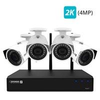 Deals on Defender 2K 4MP Wireless 4 Channel 1TB NVR System W2K1T4B4