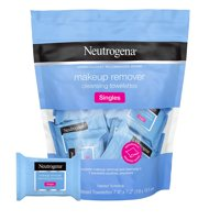 Neutrogena Cleansing Facial Wipes, Individually Wrapped, 1 Bag of 20 Each