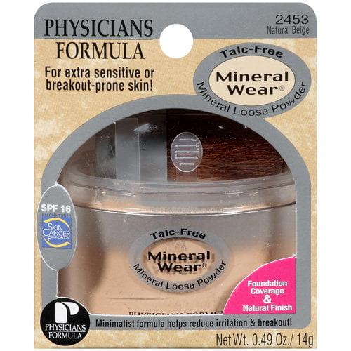 Mineral Wear�� Natural Beige Mineral Loose Powder SPF 16 0.49 oz. Jar