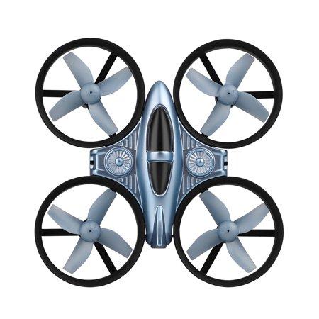 XK Q808 2 4G 6- Gyro Mini Ducted Drone Altitude Hold 360° Flip Headless  Mode RC Quadcopter for Beginner RTF