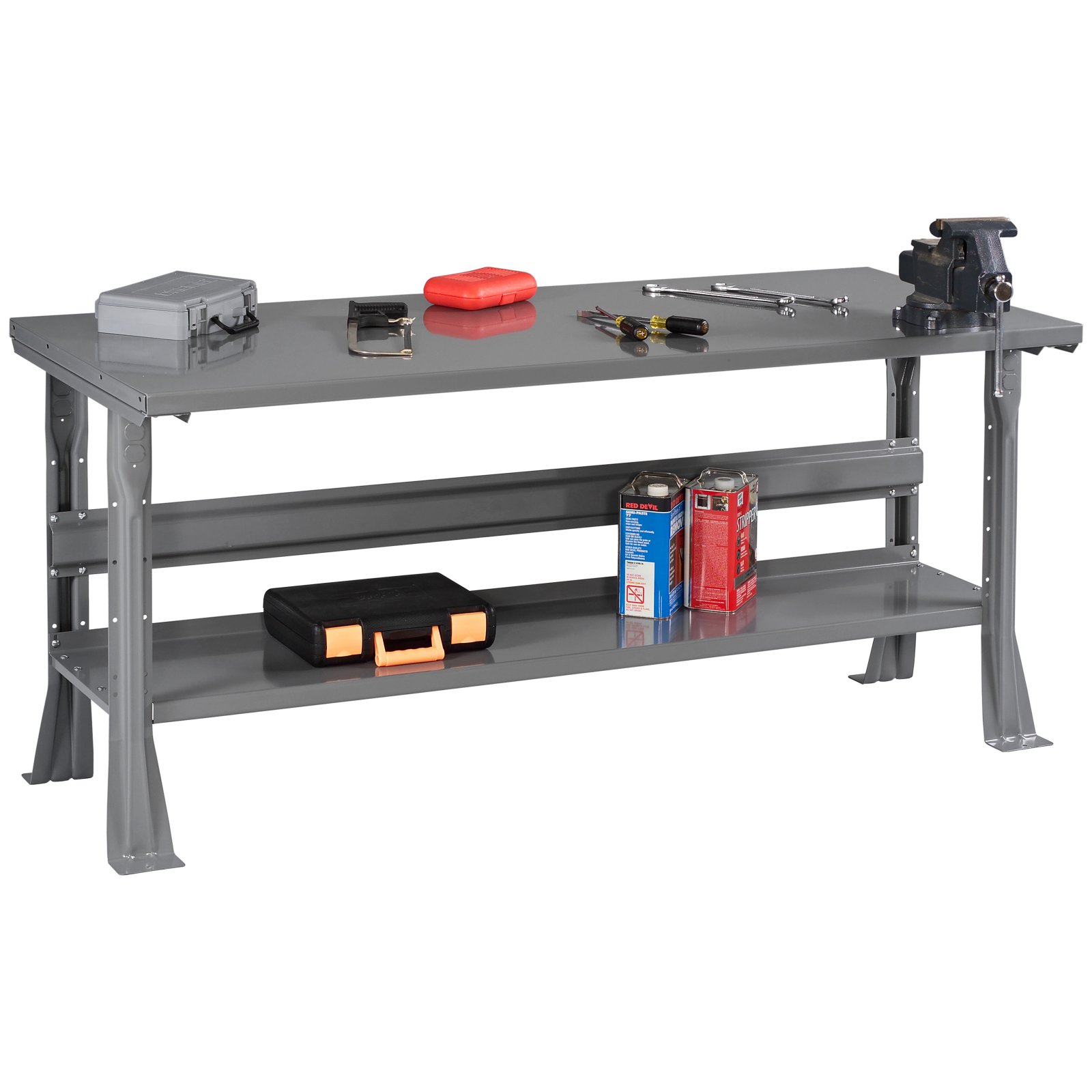 Tennsco Steel Top Workbench