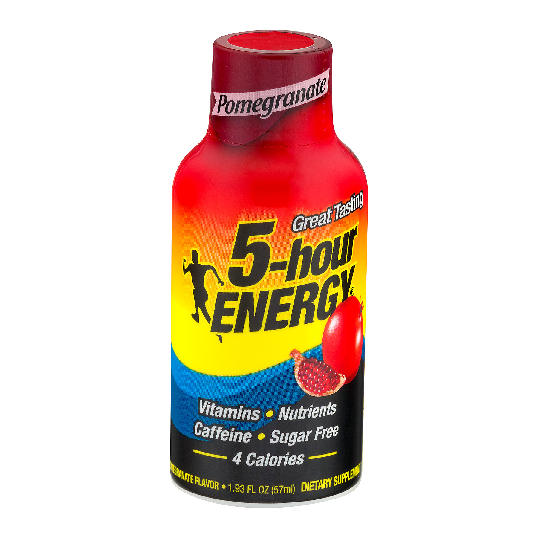 5-Hour Energy Dietary Supplement Pomegranate, 1.93 FL OZ