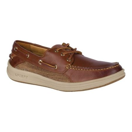 Men's Sperry Top-Sider Gold Gamefish 3-Eye Boat Shoe (Gold Sperry Shoes)