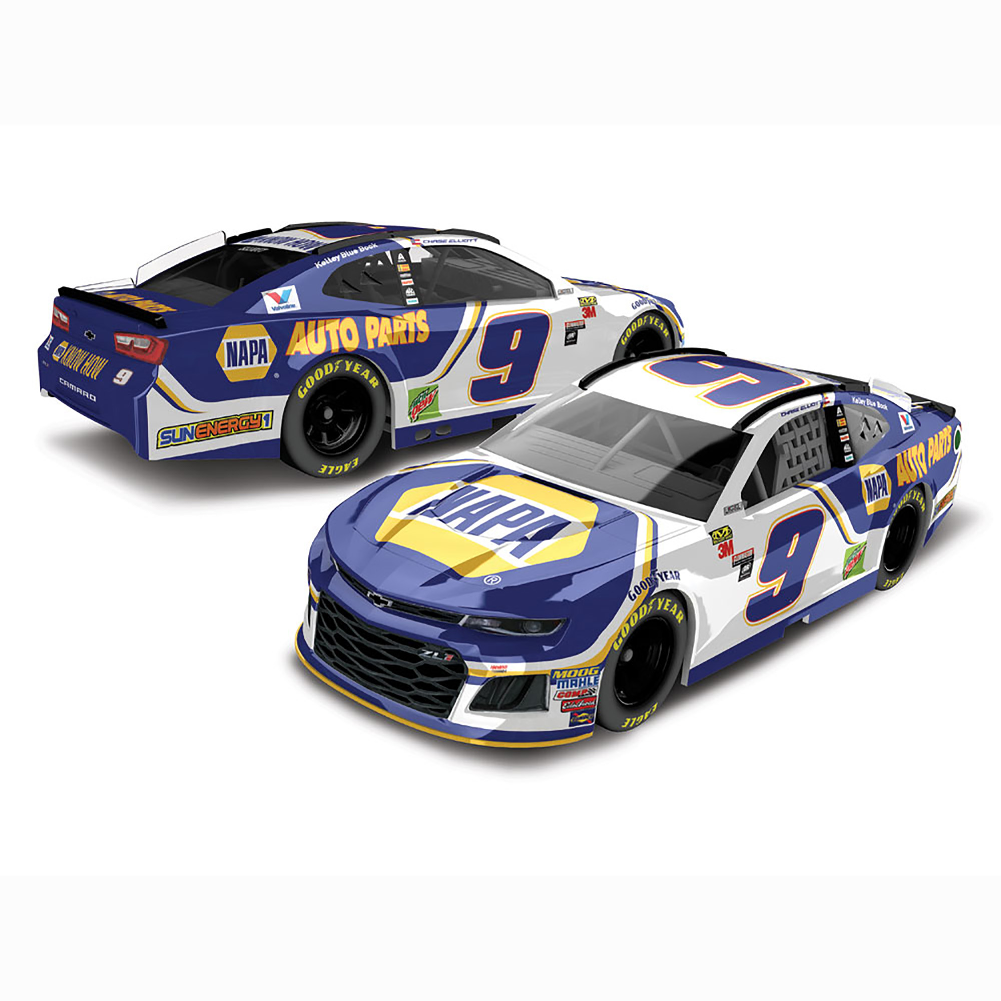 Chase Elliott Action Racing 2018 #9 NAPA 1:64 Regular Paint Die-Cast Chevrolet Camaro ZL1 - No Size