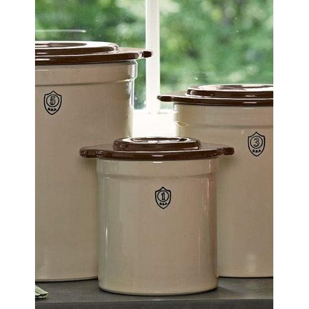 1-Gallon Stoneware Pickling (Stoneware Storage)