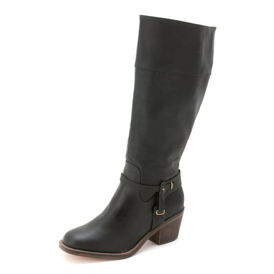 012586ddac9f XOXO - Women s Marisa Wide Calf Knee High Western Boot - Walmart.com