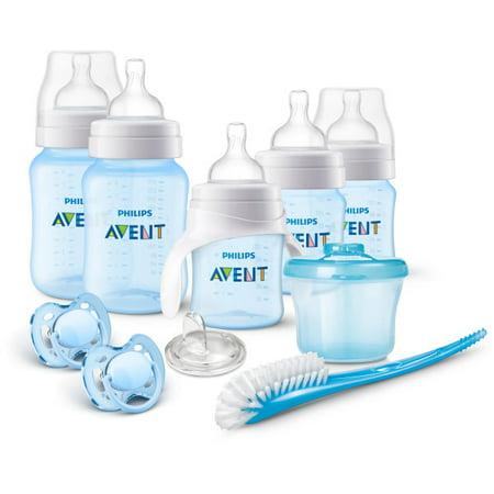 Philips Avent Anti Colic Bottle Bpa Free Baby Bottle Starter Gift Set  Blue  Scd393 03