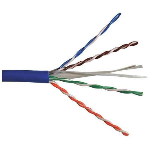 CAROL CP6.30.07 Cable,Cat 6,23 AWG,100 ft,Blue G8289732