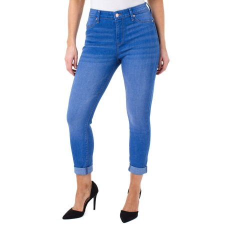 Juniors' Sculpt Cropped Skinny Jeans
