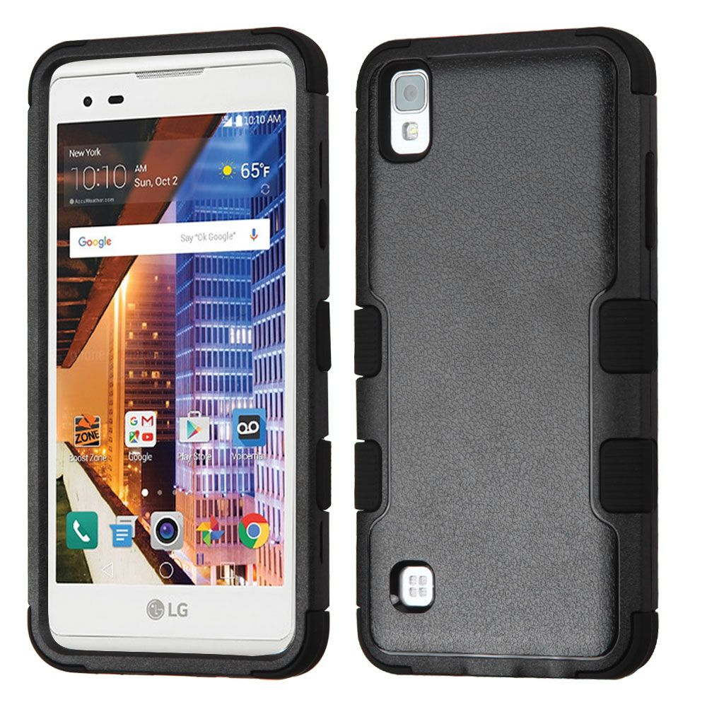LG Tribute HD Phone Case, LG X STYLE Case, LG Tribute HD Case, by Insten Tuff Hard Hybrid Dual Layer Case For LG X STYLE / Tribute HD case cover - image 3 of 3