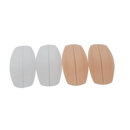 Bra Strap Cushions - Flirtzy Soft Silicone Bra Strap Cushion Holder Non-Slip Shoulder Protecting Pads Ease Shoulder Pain Discomfort and Indentation, 2 Pair Pack