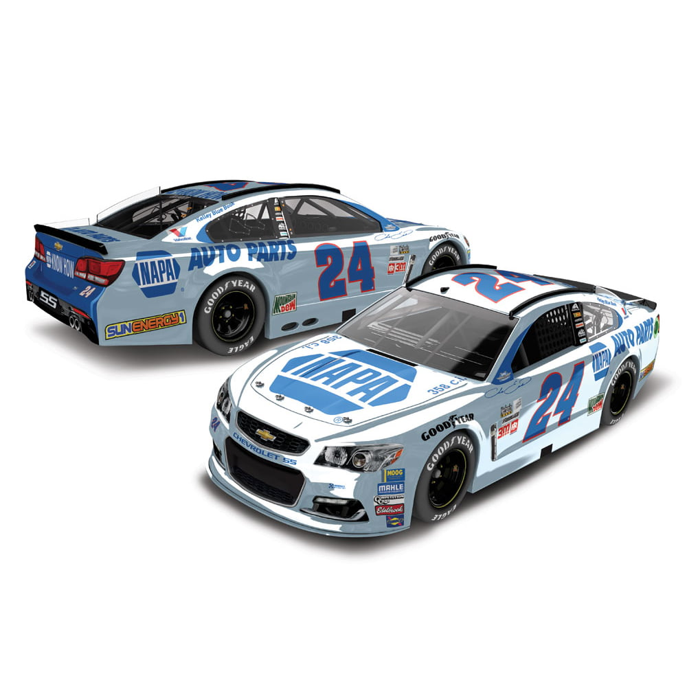 Chase Elliott Action Racing 2017 #24 NAPA Darlington 1:24 Monster Energy Nascar Cup Series... by Lionel LLC