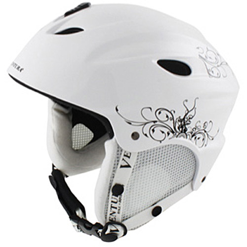 Ventura Skiing Snowboarding White Helmet, Adult by Generic