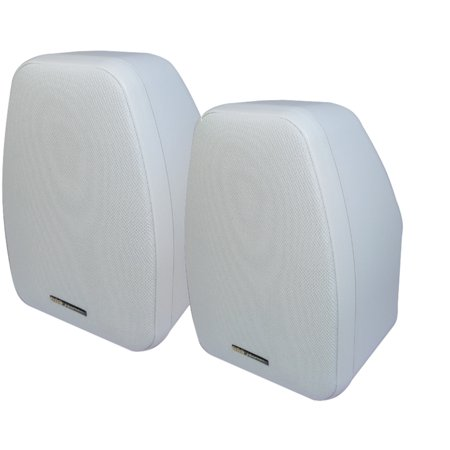 Bic America Adatto Dv52siw 5 25   Adatto Indoor Outdoor Speakers  White
