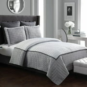 American Home Fashion Hudson Hotel 5 Pieces Quilt Set