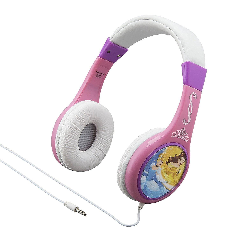 Disney Princess Kid Friendly Headphones for Safe Listening