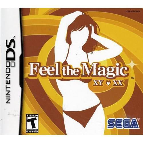 Feel The Magic XY/XX, Sega, Nintendo DS, 010086670004