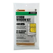 Frost King 5004632 Clear Outdoor Storm Window Kit, 36 x 72 in.