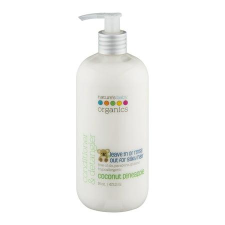 Nature's Baby Organics Conditionneur & Démêlant Noix de coco ananas, 16,0 OZ