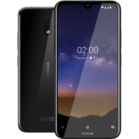 Nokia 2.2 TA-1179 32GB GSM Unlocked Android Phone - Tungsten (Best Low Price Android Phone)