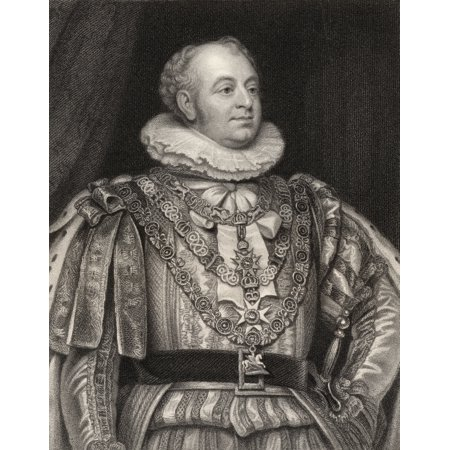 Prince Augustus Frederick Duke Of York And Albany 1763 To 1827 Second Son Of King George Iii Engraved By J Jenkins After T Phillips From The Book National Portrait Gallery Volume Iii Published C