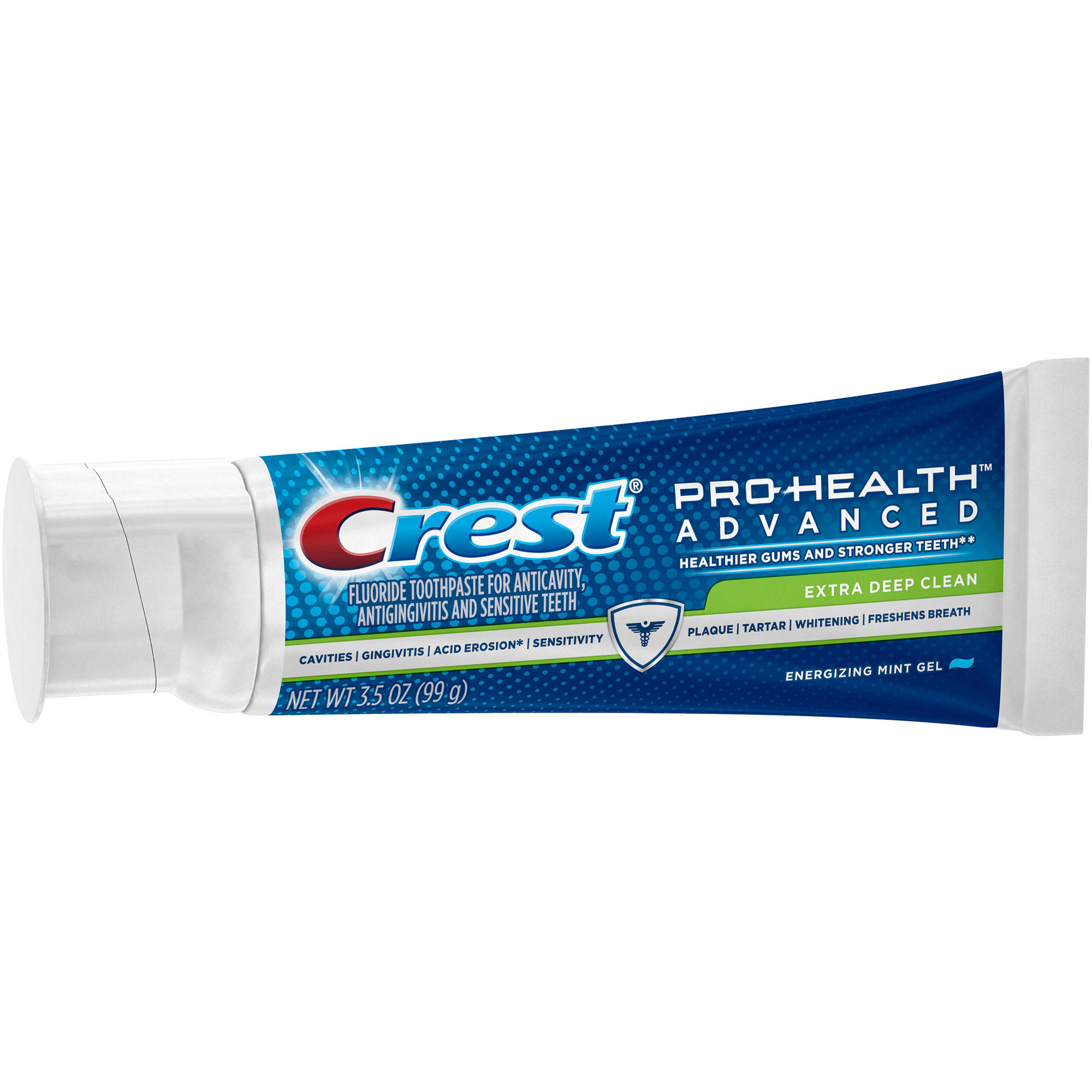Crest Pro-Health Advanced Extra Deep Clean Energizing Mint Gel Extra Deep Clean Toothpaste, 3.5 oz
