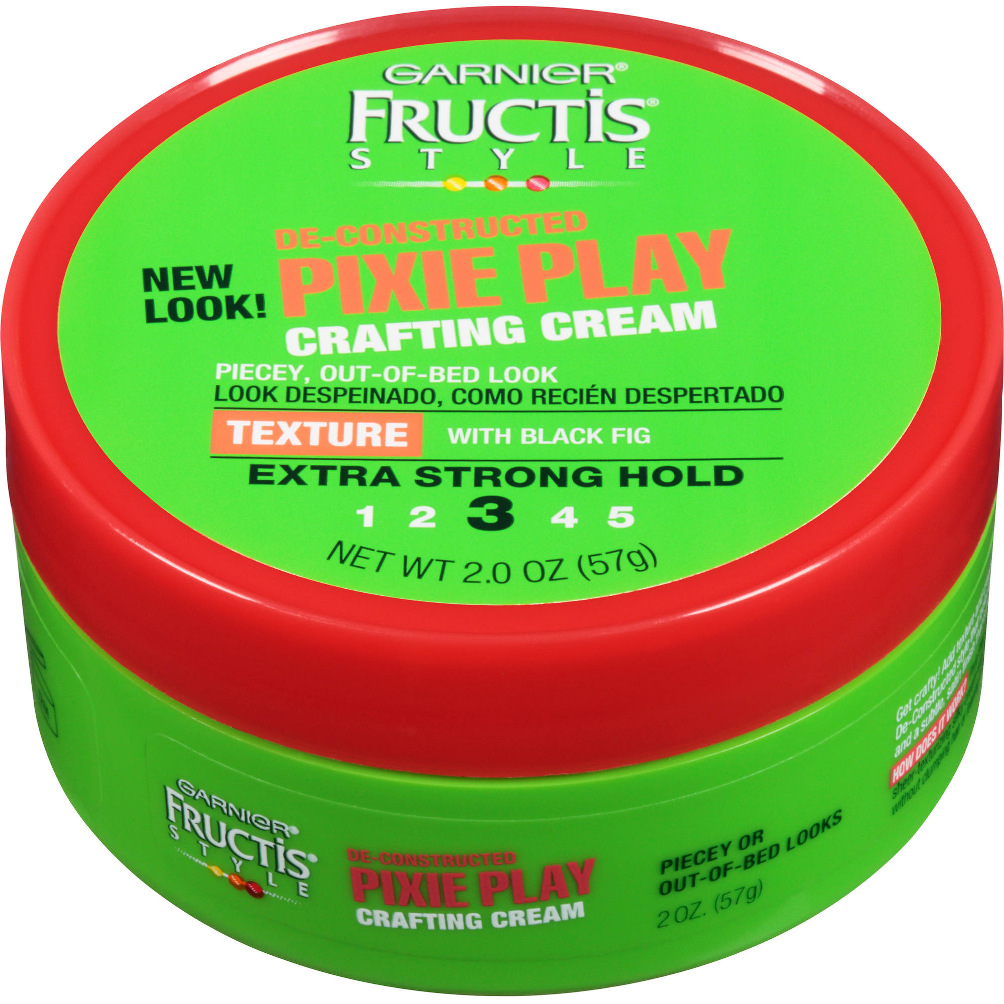 Garnier Fructis Style De-Constructed Pixie Play Extra Strong Hold Crafting Cream, 2 oz