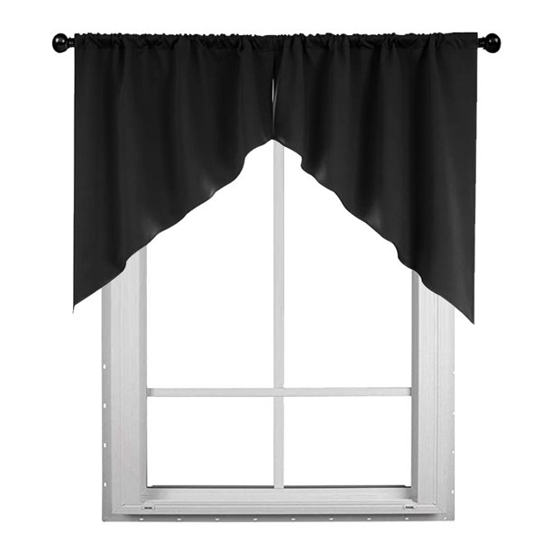 Auchen Minimalism Home Swag Curtain, Swag Curtains For Living Room