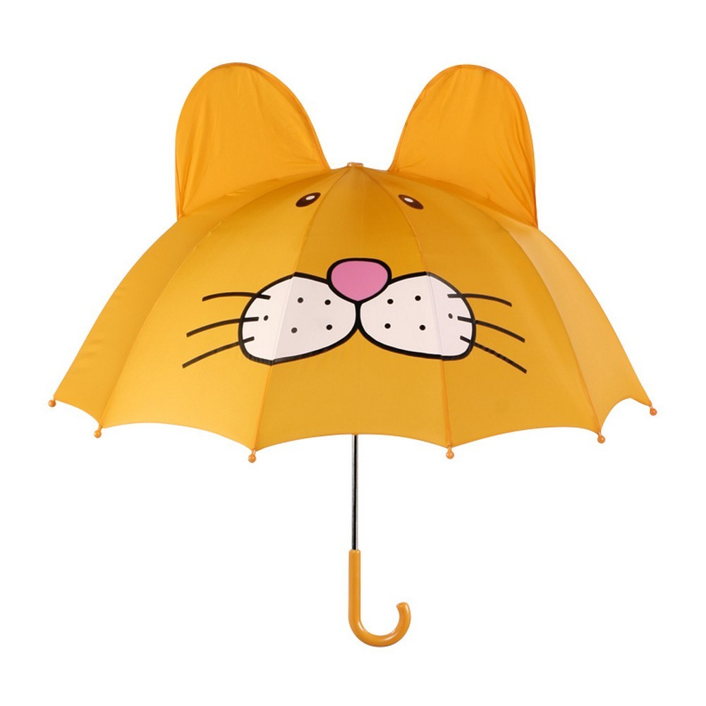 Unisex Yellow Child Size Lightweight Lion Umbrella