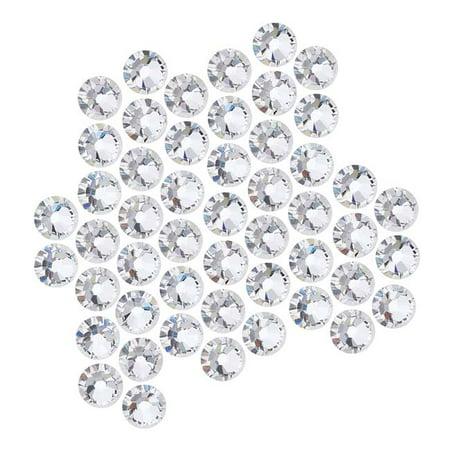 - Swarovski Crystal, Round Flatback Rhinestone SS20 4.6mm, 50 Pieces, Crystal