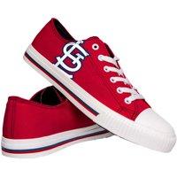 St. Louis Cardinals Low Top Big Logo Canvas Shoes