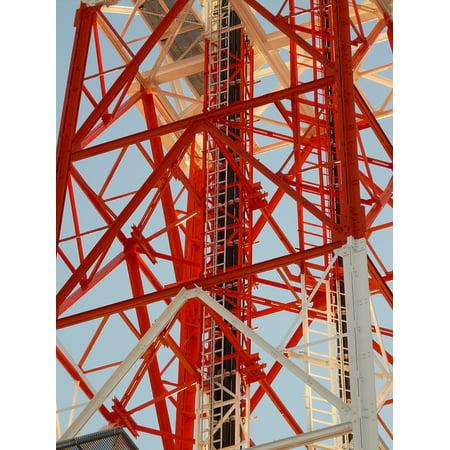 LAMINATED POSTER Radio Tower Transmission Tower Radio Mast Greened Poster Print 24 x (Transmission Tower)